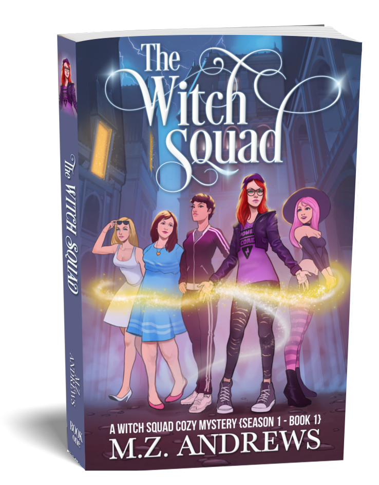 The Witch Squad A Paranormal Witchy Cozy Mystery Series Cover