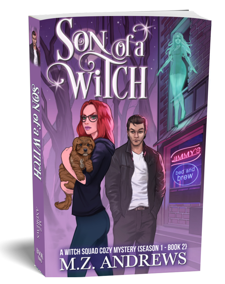 Son of a Witch A Witch Squad Cozy Mystery Series