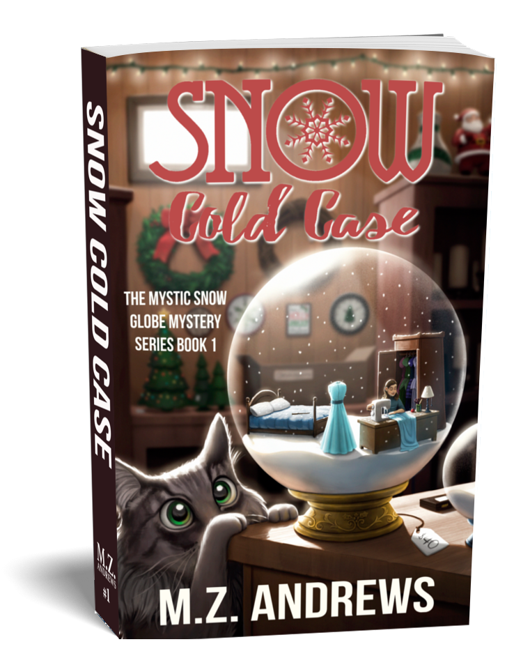 Snow Cold Case: A Mystic Snow Globe Romantic Cozy Mystery Series Holiday Christmas Themed New York City Manhattan
